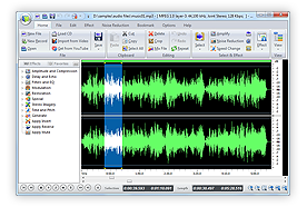 Audio Waveform Editor