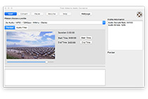 One Click to Convert Video to Audio