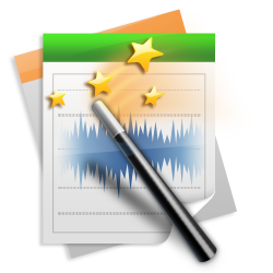 Free Audio Editor Icon